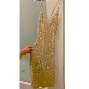 Sparkly dress Size small Can fit Medium & Large